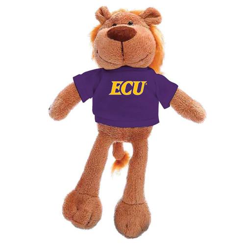 Plush Lion with Purple ECU Tee