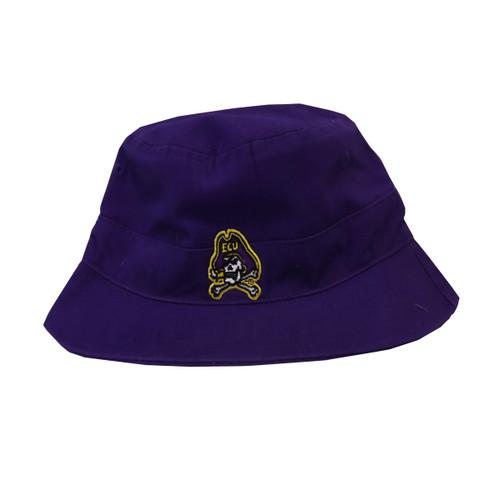Purple Jolly Roger Infant Bucket Hat