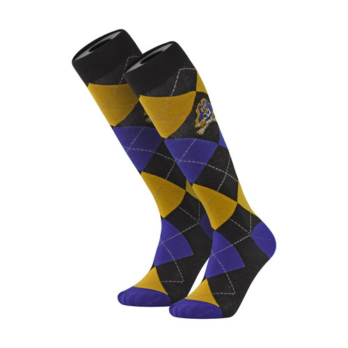 Argyle Jolly Roger Dress Socks