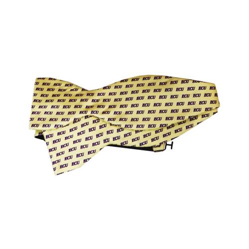 Yellow Silk ECU Bow Tie