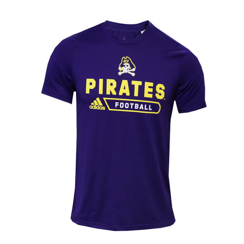 Purple Adidas Jolly Roger Football Tee