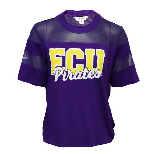 Purple 3/4 Mesh ECU Shirt