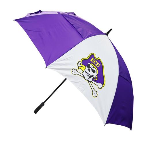 Purple and White Jolly Roger Umbrella