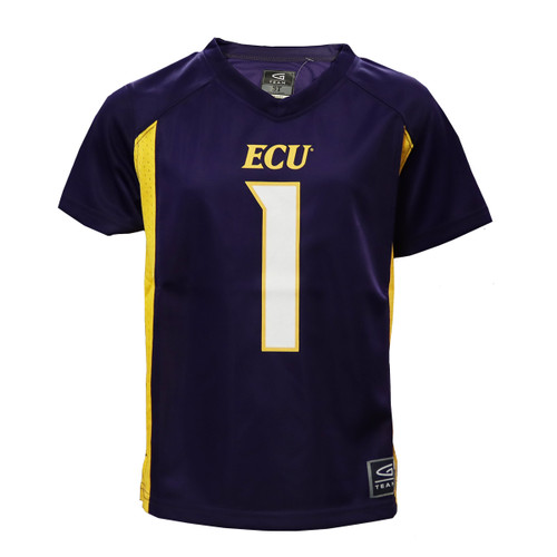 Purple and Gold Toddler #1 Jersey