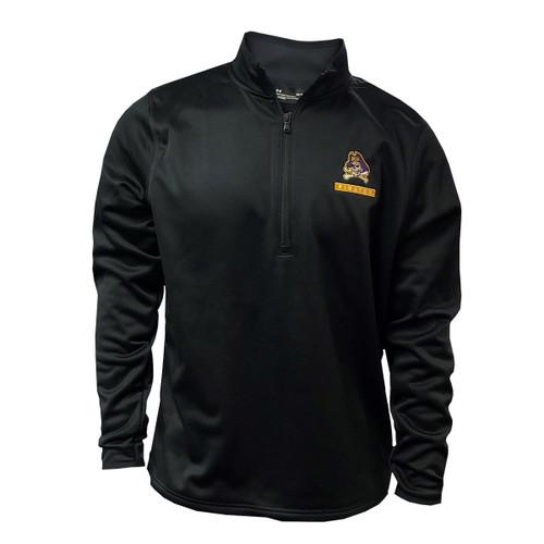 Black Under Armour Quarter Zip Pullover