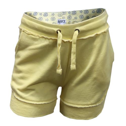 Yellow Vintage Beach Shorts