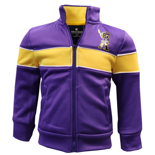 Purple and Gold Toddler Jacket