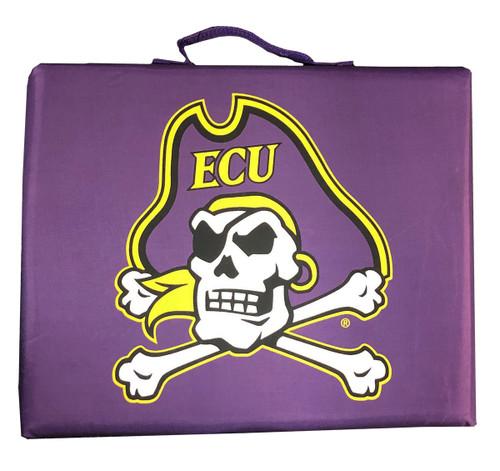 Purple Jolly Roger Stadium Cushion