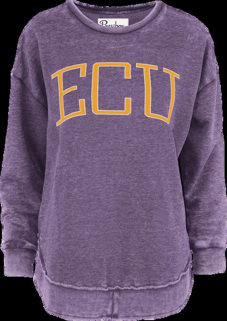 Purple Vintage ECU Crew