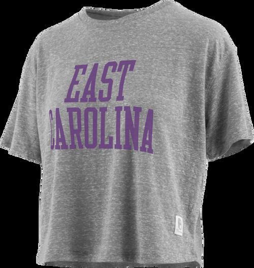 Grey East Carolina Crop Top