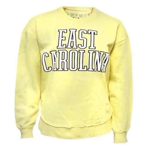 Yellow East Carolina Fleece Crew