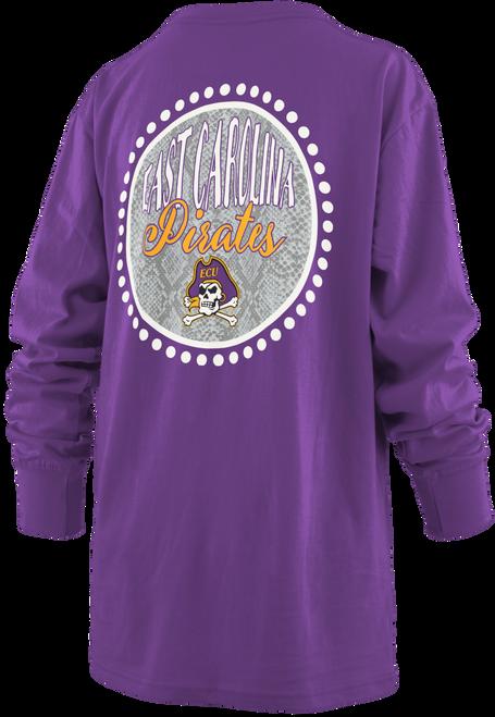 Long Sleeve Purple Cury Viper T-Shirt