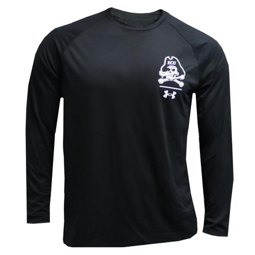 Black Jolley Roger Bar Logo Under Armour Long Sleeve