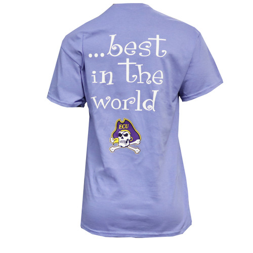 Violet Girls Best In The World Jolly Roger Tee