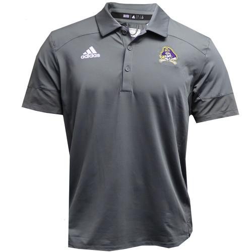 Grey Jolly Roger Adidas Polo