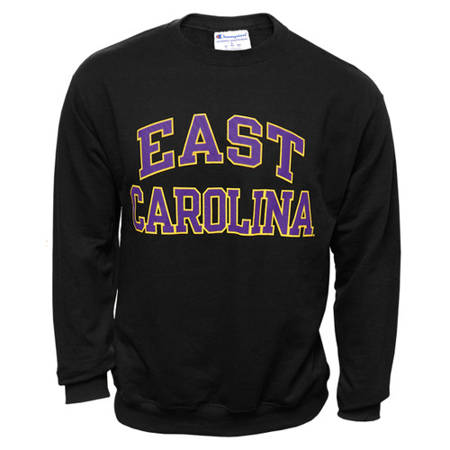 Black East Carolina Arch Crew