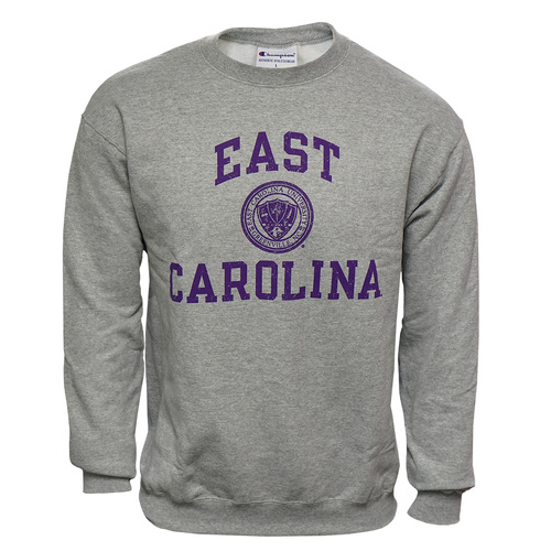 Crew Grey East Carolina Seal