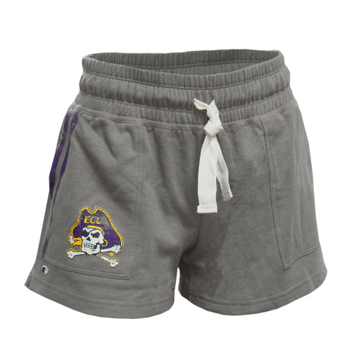 Grey Ladies Jolly Roger Cotton Shorts