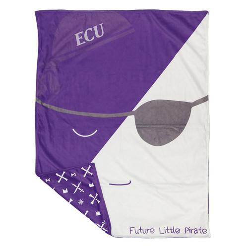 ECU ICON Future Little Pirate Blanket