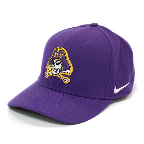 Purple Nike Flex Fit Jolly Roger Cap