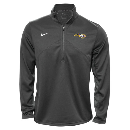Grey 1/4 Zip Pirate Nation Pullover