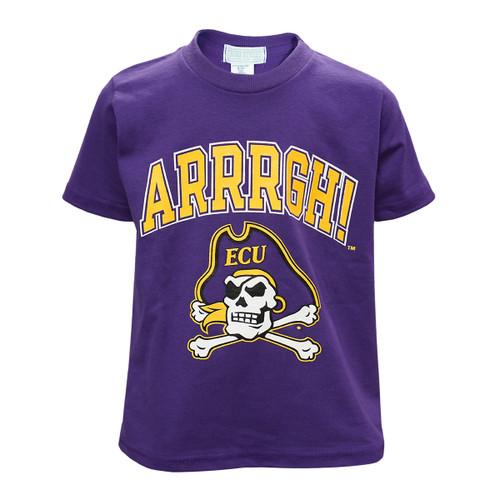 Youth Purple ARRRGH Tee