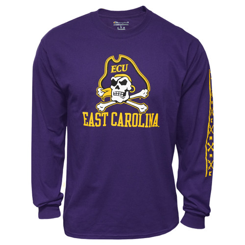 Purple Jolly Roger Tee with ICON Sleeve Print