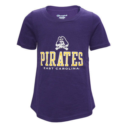 Youth Girls Pirates and Jolly Roger Tee