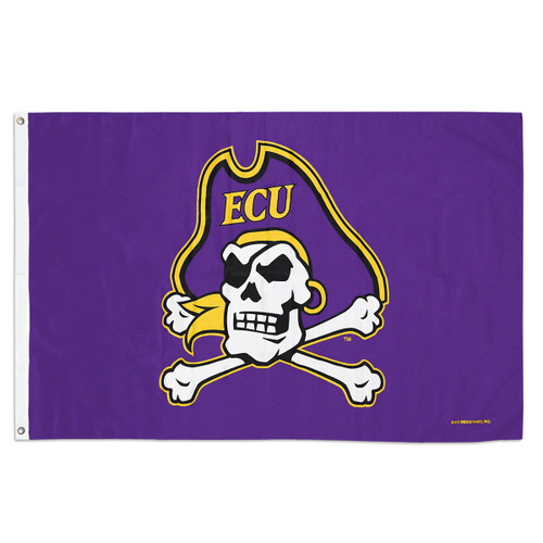 Purple Jolly Roger Flag
