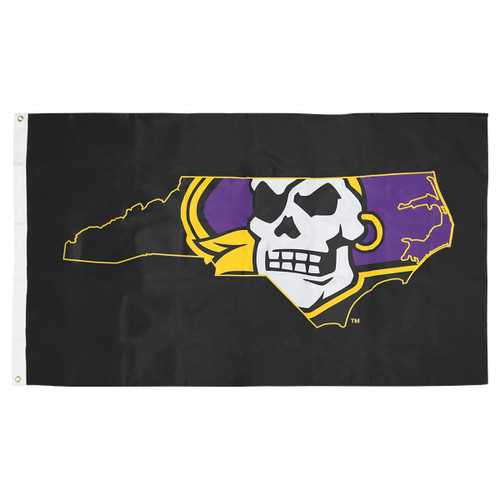 Black Pirate Nation Flag