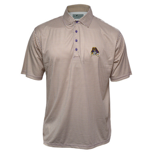 Purple & Gold Jolly Roger Polo