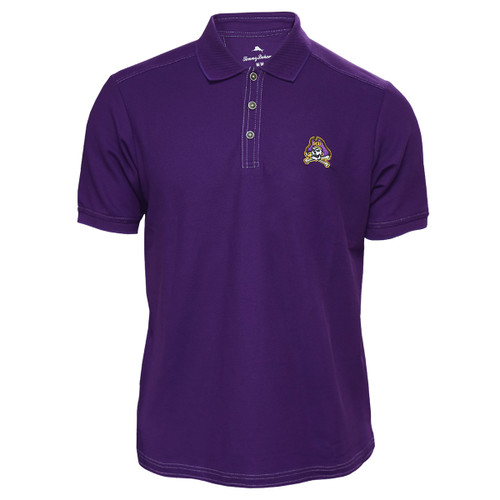 Purple with White Accent Stitching Jolly Roger Polo