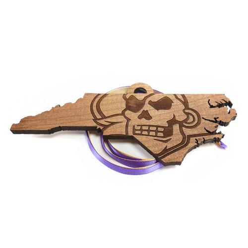 Cherry Pirate Nation Cutout Ornament