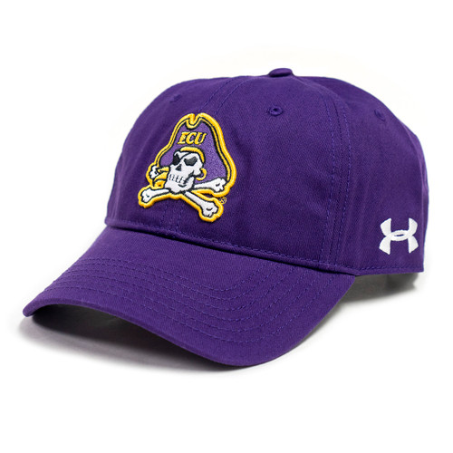 Purple Under Armour Jolly Roger Cap