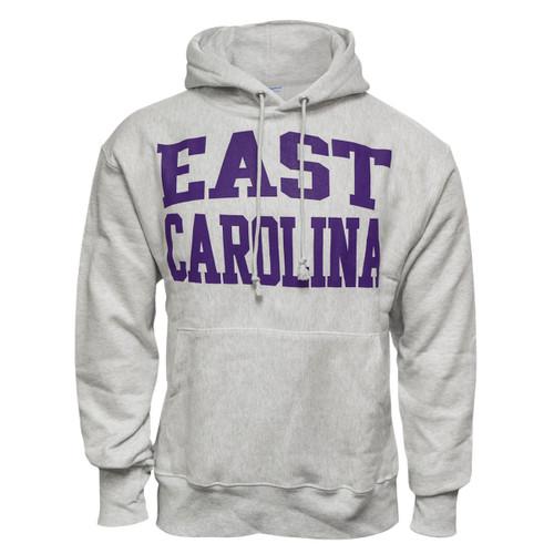Classic Reverse Weave Heavy East Carolina Hoodie