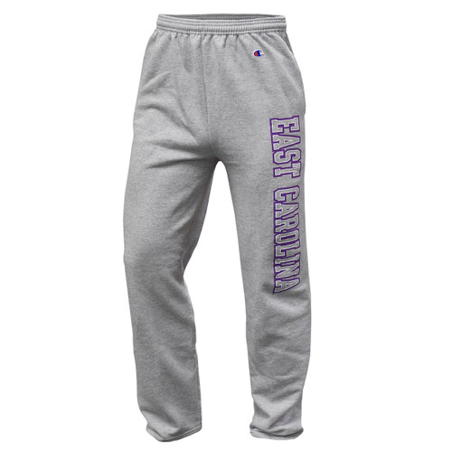 Oxford Sweatpants with East Carolina  Leg Design