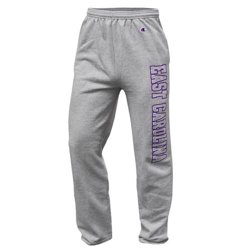 Oxford Sweatpants with East Carolina  Leg Design