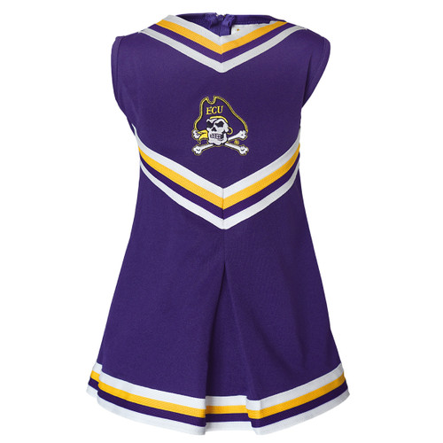 Purple Toddler / Youth V-neck Cheer Dress