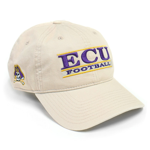 Stone ECU Football Bar Cap