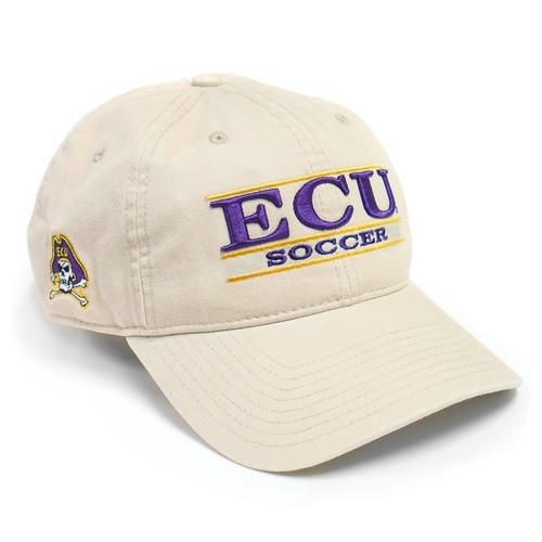 Stone ECU Soccer Bar Cap