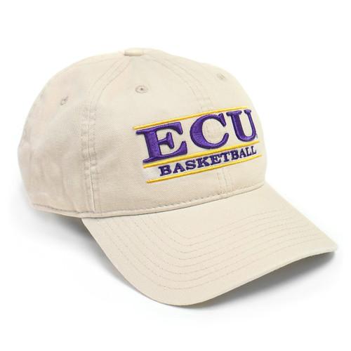 Stone ECU Basketball Bar Cap