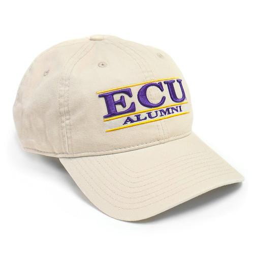 Stone ECU Alumni Bar Cap