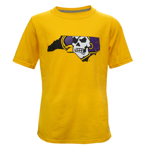 Gold Youth Pirate Nation Tee