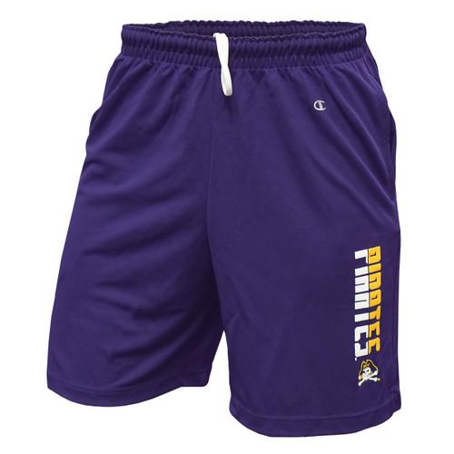 Purple Mesh Dual Zone Pirates Shorts