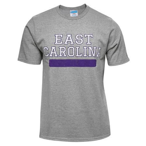 Oxford East Carolina Purple Bar Tee