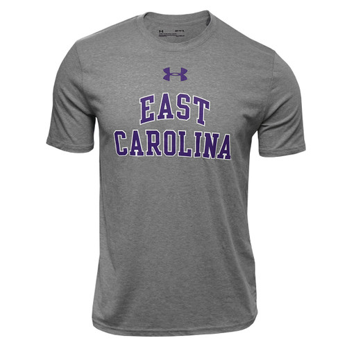 Grey Heat Gear East Carolina Arch Tee
