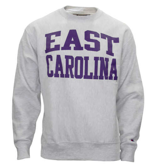Oxford Reverse Weave East Carolina Crew