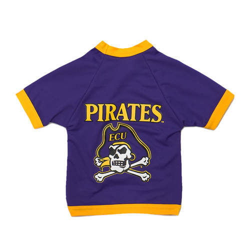 Purple  & Gold Jolly Roger Dog Jersey