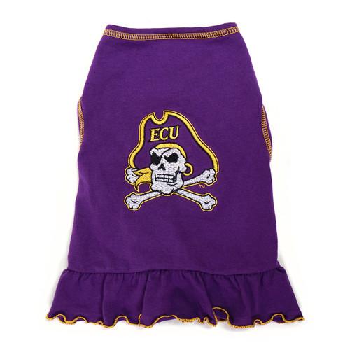 Purple Jolly Roger Pet Cheerdress