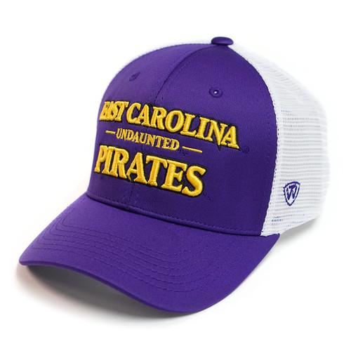 Purple & White Pirates Undaunted Trucker Cap
